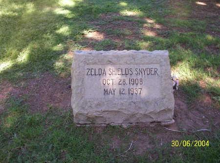 SNYDER, SARAH ZELDA - Pima County, Arizona | SARAH ZELDA SNYDER - Arizona Gravestone Photos