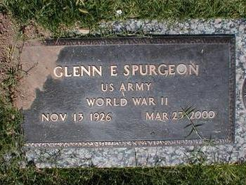 SPURGEON, GLENN E. - Pima County, Arizona | GLENN E. SPURGEON - Arizona Gravestone Photos
