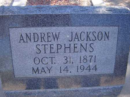 STEPHENS, ANDREW JACKSON - Pima County, Arizona | ANDREW JACKSON STEPHENS - Arizona Gravestone Photos