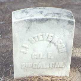 STEVENSON, J. L. - Pima County, Arizona | J. L. STEVENSON - Arizona Gravestone Photos