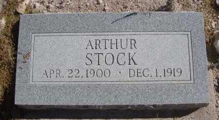 STOCK, ARTHUR - Pima County, Arizona | ARTHUR STOCK - Arizona Gravestone Photos