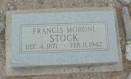 STOCK, FRANCIS MORONI - Pima County, Arizona | FRANCIS MORONI STOCK - Arizona Gravestone Photos