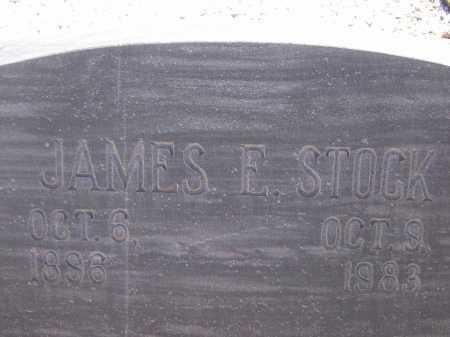 STOCK, JAMES E. - Pima County, Arizona | JAMES E. STOCK - Arizona Gravestone Photos