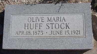 STOCK, OLIVE MARIA - Pima County, Arizona | OLIVE MARIA STOCK - Arizona Gravestone Photos