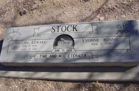 STOCK, VAUCHN EDWARD - Pima County, Arizona | VAUCHN EDWARD STOCK - Arizona Gravestone Photos