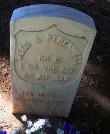 STOCKWELL, WEED A. - Pima County, Arizona   WEED A. STOCKWELL - Arizona Gravestone Photos