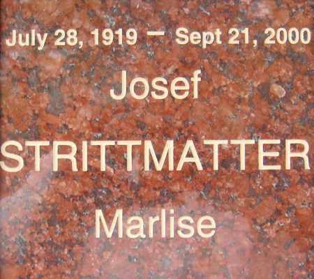 STRITTMATTER, JOSEF - Pima County, Arizona | JOSEF STRITTMATTER - Arizona Gravestone Photos