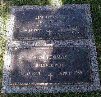 THOMAS, ANN - Pima County, Arizona | ANN THOMAS - Arizona Gravestone Photos