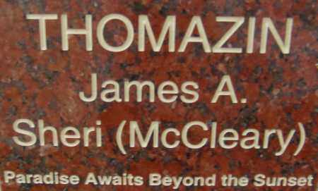 THOMAZIN, SHERI - Pima County, Arizona | SHERI THOMAZIN - Arizona Gravestone Photos