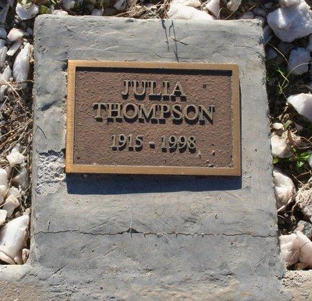 THOMPSON, JULIA - Pima County, Arizona | JULIA THOMPSON - Arizona Gravestone Photos