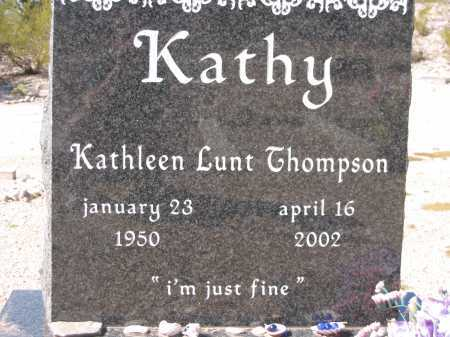 THOMPSON, KATHLEEN LUNT - Pima County, Arizona | KATHLEEN LUNT THOMPSON - Arizona Gravestone Photos