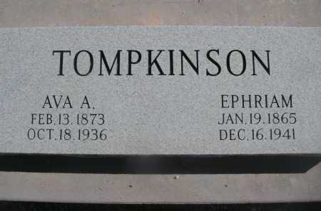 TOMPKINSON, EPHRIAM - Pima County, Arizona | EPHRIAM TOMPKINSON - Arizona Gravestone Photos