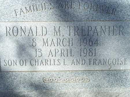 TREPANIER, RONALD M. - Pima County, Arizona | RONALD M. TREPANIER - Arizona Gravestone Photos
