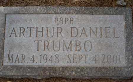 TRUMBO, ARTHUR DANIEL - Pima County, Arizona | ARTHUR DANIEL TRUMBO - Arizona Gravestone Photos