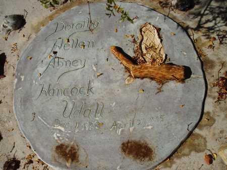 UDALL, DOROTHY HELLEN ABNEY HANCOCK - Pima County, Arizona   DOROTHY HELLEN ABNEY HANCOCK UDALL - Arizona Gravestone Photos