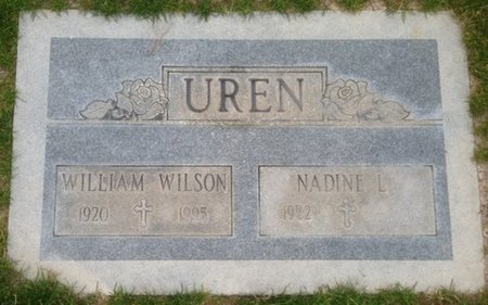 UREN, NADINE L. - Pima County, Arizona | NADINE L. UREN - Arizona Gravestone Photos