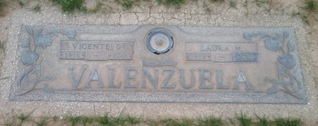 VALENZUELA, VINCENTE G. - Pima County, Arizona | VINCENTE G. VALENZUELA - Arizona Gravestone Photos