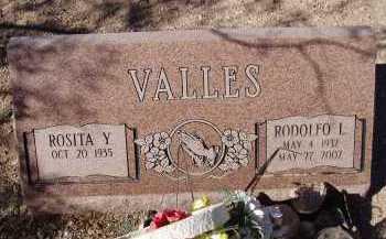 VALLES, ROSITA Y. - Pima County, Arizona | ROSITA Y. VALLES - Arizona Gravestone Photos
