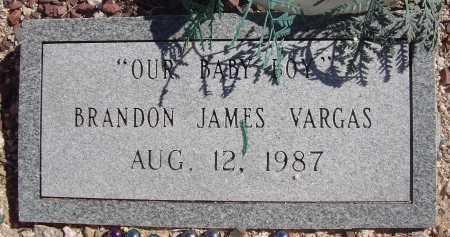 VARGAS, BRANDON JAMES - Pima County, Arizona | BRANDON JAMES VARGAS - Arizona Gravestone Photos