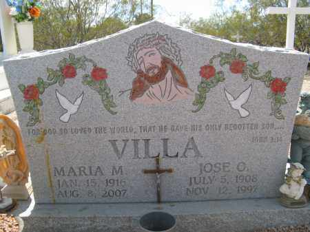 VILLA, MARIA M. - Pima County, Arizona | MARIA M. VILLA - Arizona Gravestone Photos