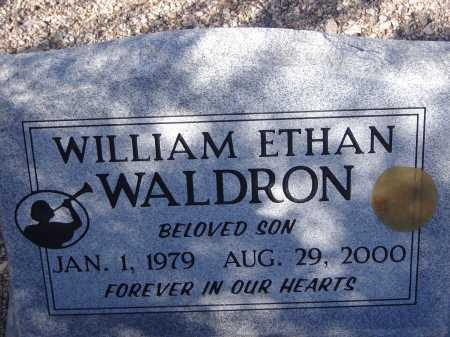 WALDRON, WILLIAM ETHAN - Pima County, Arizona | WILLIAM ETHAN WALDRON - Arizona Gravestone Photos
