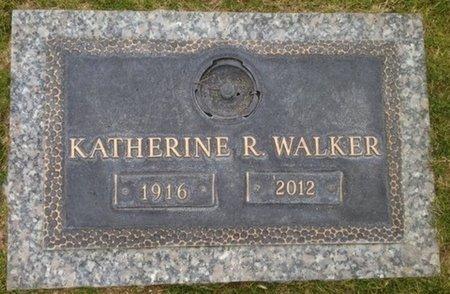 WALKER, KATHERINE R. - Pima County, Arizona   KATHERINE R. WALKER - Arizona Gravestone Photos