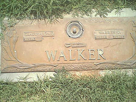 WALKER, WARREN - Pima County, Arizona | WARREN WALKER - Arizona Gravestone Photos
