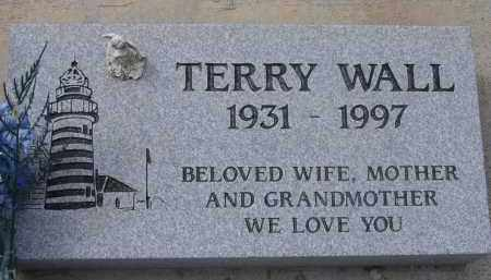 WALL, TERRY - Pima County, Arizona | TERRY WALL - Arizona Gravestone Photos