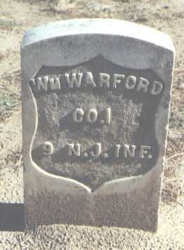 WARFORD, WILLIAM - Pima County, Arizona | WILLIAM WARFORD - Arizona Gravestone Photos