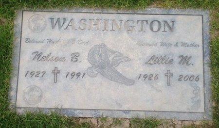 WASHINGTON, LILLIE M. - Pima County, Arizona | LILLIE M. WASHINGTON - Arizona Gravestone Photos