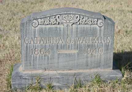 O WATKINS, CATALINA - Pima County, Arizona | CATALINA O WATKINS - Arizona Gravestone Photos