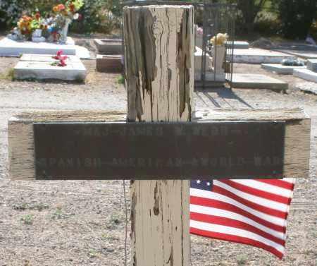 WEBB, MAJOR JAMES W - Pima County, Arizona | MAJOR JAMES W WEBB - Arizona Gravestone Photos