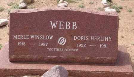 HERLIHY WEBB, DORIS - Pima County, Arizona | DORIS HERLIHY WEBB - Arizona Gravestone Photos