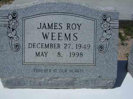 WEEMS, JAMES ROY - Pima County, Arizona | JAMES ROY WEEMS - Arizona Gravestone Photos