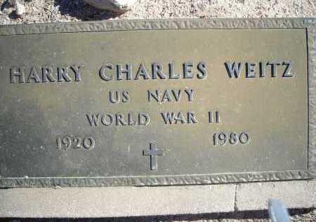 WEITZ, HARRY CHARLES - Pima County, Arizona | HARRY CHARLES WEITZ - Arizona Gravestone Photos
