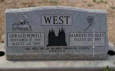 WEST, MARILYN - Pima County, Arizona | MARILYN WEST - Arizona Gravestone Photos