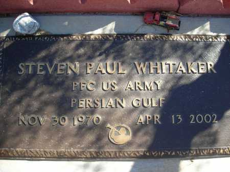 WHITAKER, STEVEN PAUL - Pima County, Arizona   STEVEN PAUL WHITAKER - Arizona Gravestone Photos