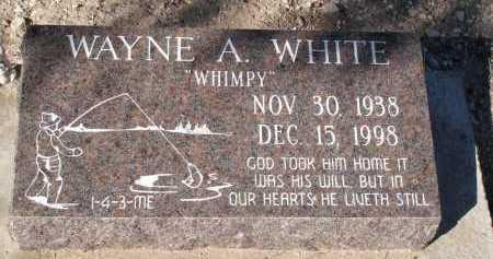 WHITE, WAYNE A. - Pima County, Arizona   WAYNE A. WHITE - Arizona Gravestone Photos