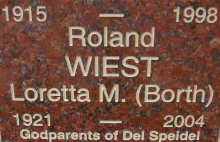 BORTH WIEST, LORETTA M. - Pima County, Arizona | LORETTA M. BORTH WIEST - Arizona Gravestone Photos