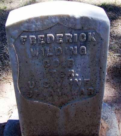 WILDING, FREDERICK - Pima County, Arizona   FREDERICK WILDING - Arizona Gravestone Photos