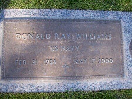 WILLIAMS, DONALD RAY - Pima County, Arizona   DONALD RAY WILLIAMS - Arizona Gravestone Photos