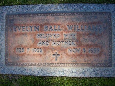 BALL WILLIAMS, EVELYN - Pima County, Arizona   EVELYN BALL WILLIAMS - Arizona Gravestone Photos