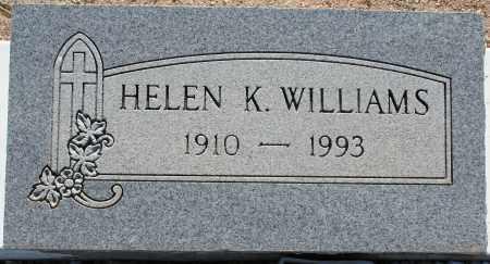 WILLIAMS, HELEN K. - Pima County, Arizona   HELEN K. WILLIAMS - Arizona Gravestone Photos