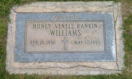 WILLIAMS, HONEY VENELL - Pima County, Arizona | HONEY VENELL WILLIAMS - Arizona Gravestone Photos