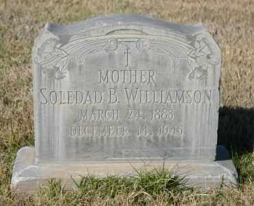 WILLIAMSON, SOLEDAD B. - Pima County, Arizona | SOLEDAD B. WILLIAMSON - Arizona Gravestone Photos