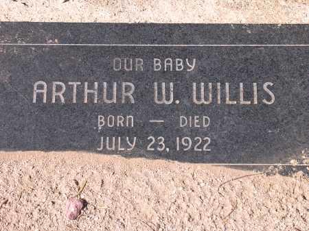 WILLIS, ARTHUR W. - Pima County, Arizona | ARTHUR W. WILLIS - Arizona Gravestone Photos