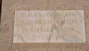 WILSON, ELDON WAYNE - Pima County, Arizona | ELDON WAYNE WILSON - Arizona Gravestone Photos