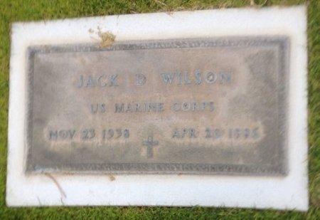 WILSON, JACK D. - Pima County, Arizona | JACK D. WILSON - Arizona Gravestone Photos