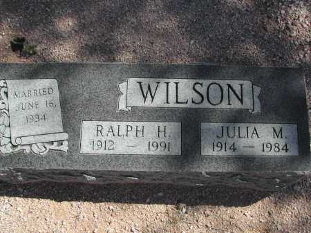 WISON, JULIA M. - Pima County, Arizona | JULIA M. WISON - Arizona Gravestone Photos