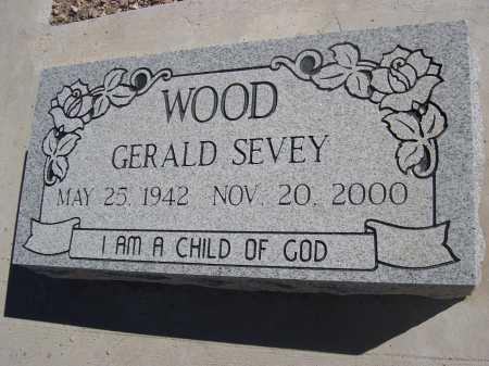 WOOD, GERALD SEVEY - Pima County, Arizona   GERALD SEVEY WOOD - Arizona Gravestone Photos